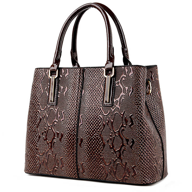 AQUILINA - Snake Design Luxury Ladies Handbag