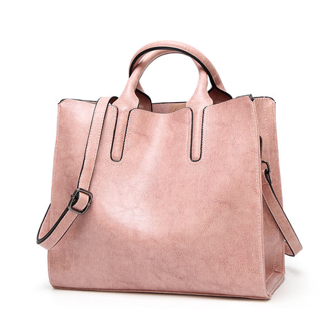 AVELLINO - Vegan Leather Tote Style Handbag