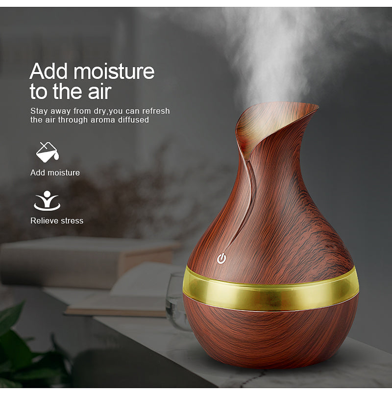 AGATE - 300ml USB Aroma Essential Oil Diffuser