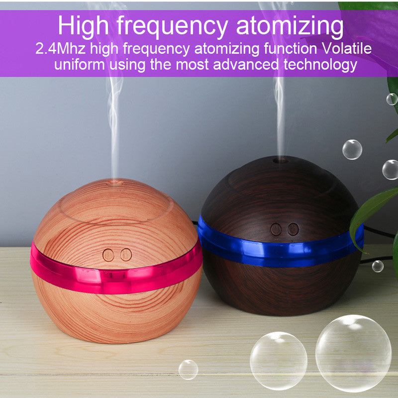 QUARTZ - 130ml USB Essential Oil Aromatherapy Diffuser