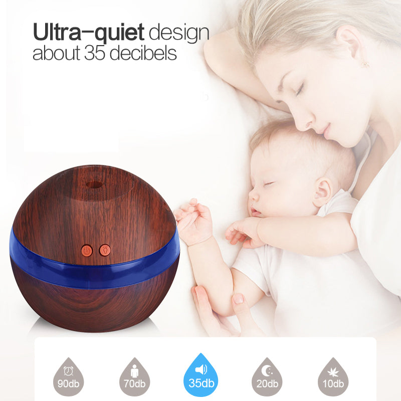 AZURITE - 290ml USB Essential Oil Aromatherapy Diffuser