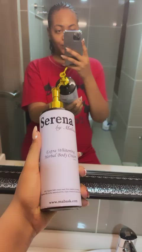 SERENA WHITENING HERBAL BODY CREAM (500ml)