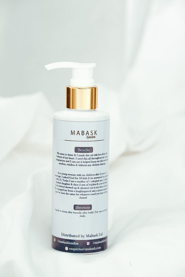 Spotless oil by MAMA 10 | STRETH-MARKS, SCARS, DARK SPOTS | DISCOLOURATION (200ml)