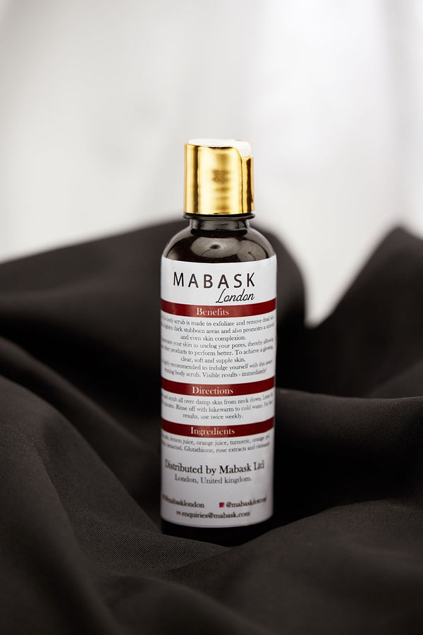 ISLA BY MABASK | LIQUID EXFOLIATING & WHITENING SCRUB (250ml)