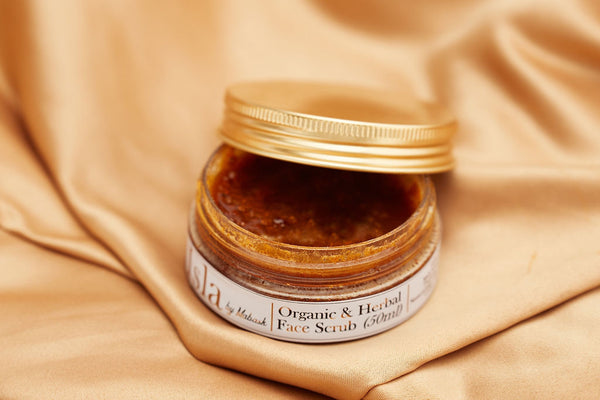 ORGANIC & HERBAL FACE SCRUB (50ml)