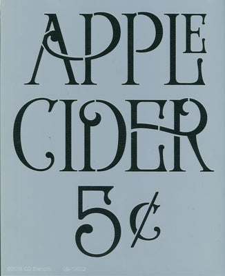 Apple Cider 5¢