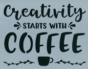 Creativity Starts with Coffee