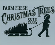 Fresh Cut Trees