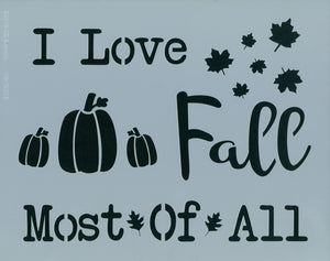 I Love Fall Most of All