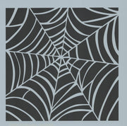 Spiderweb Background Stencil