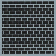 Brick Background Stencil