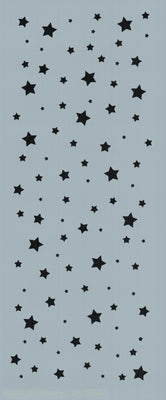 Twinkle Star Background Stencil