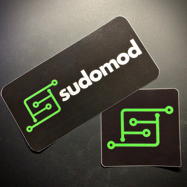sudomod Vinyl Stickers