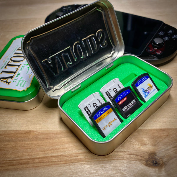 Playstation Vita Altoids Tin Cartridge Case