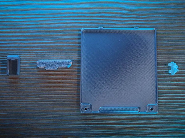 BoxyPixel Game Boy Advance SP shell printed parts set