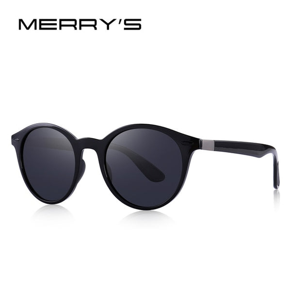Unisex Classic Retro Rivet Polarized Sunglasses TR90