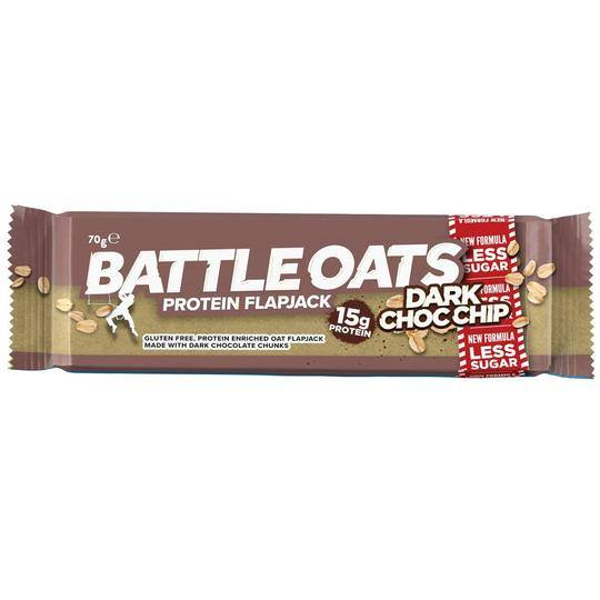 Battle Oats Protein Flapjack Dark Chocolate Chip
