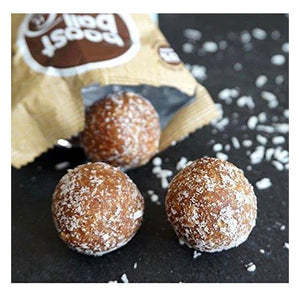 Boost Ball Protein Balls Coconut Fudge Cake