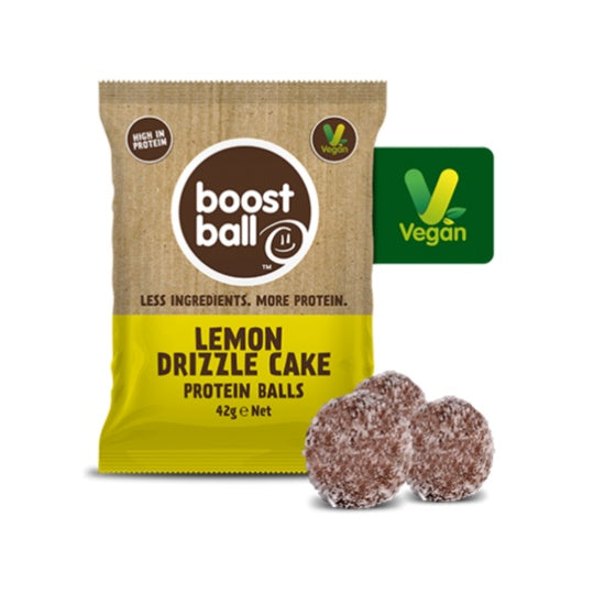 Boost Ball Protein Balls Lemon Drizzle Cake
