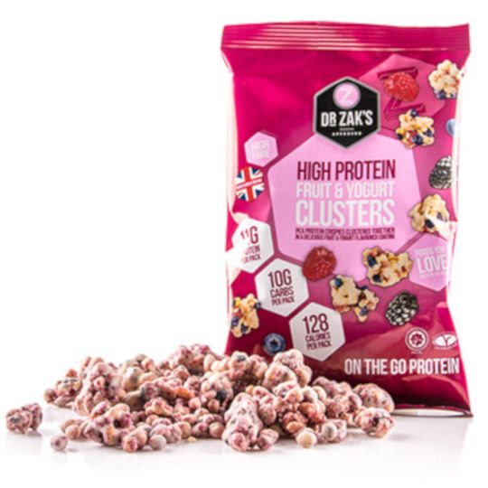Dr Zak's Protein Clusters Yoghurt & Fruit