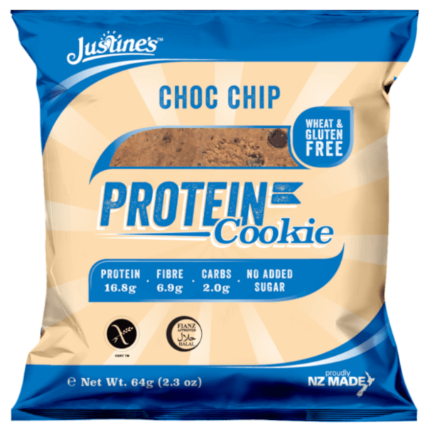 JUSTINES CHOC CHIP PROTEIN COOKIE