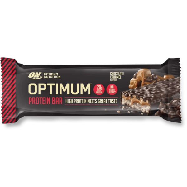 ON Optimum Protein Bar Chocolate Caramel