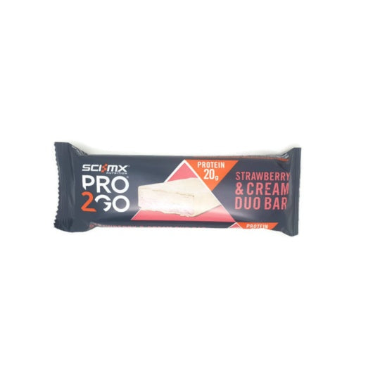 Sci-Mx Pro2GO Duo Protein Bar Strawberry Cream