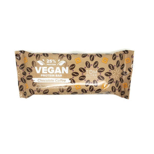 Tom Oliver Nutrition Chocolate Coffee Vegan Protein Bar