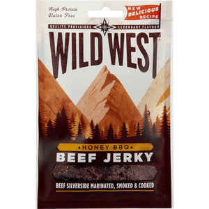 Wild West High Protein Beef Jerky Honey BBQ 25g