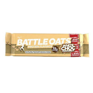 Battle Oats Protein Flapjack White Chocolate & Coconut