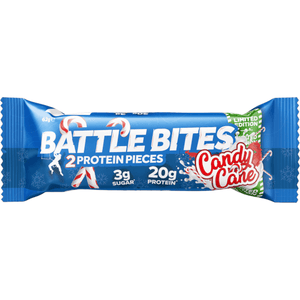 Battle Oats Protein Battle Bites Candy Cane