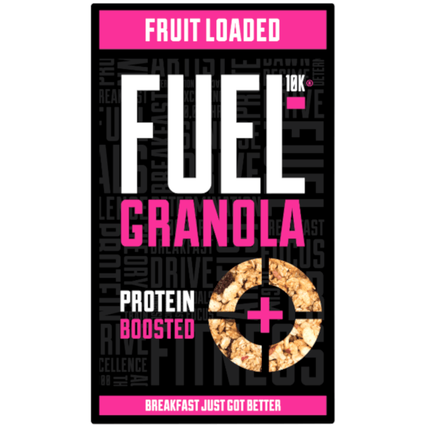 FUEL 10K Fruit Loaded Protein Boosted Granola