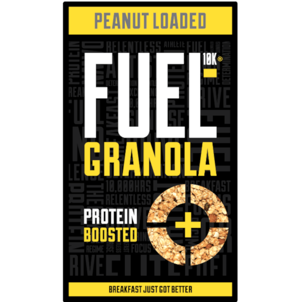 FUEL 10K Peanut Loaded Protein Boosted Granola