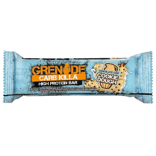 Grenade Carb Killa Protein Bar Chocolate Chip Cookie Dough