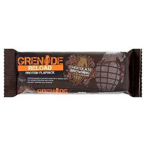 Grenade Reload Flapjack Chocolate Browning