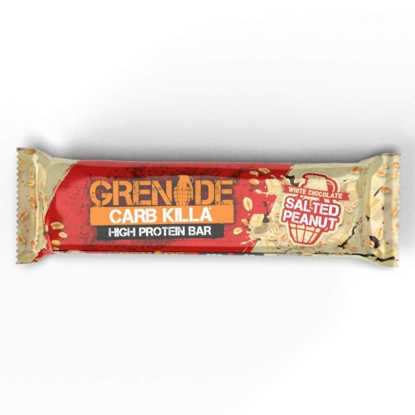 Grenade Carb Killa Protein Bar White Chocolate Salted Peanut