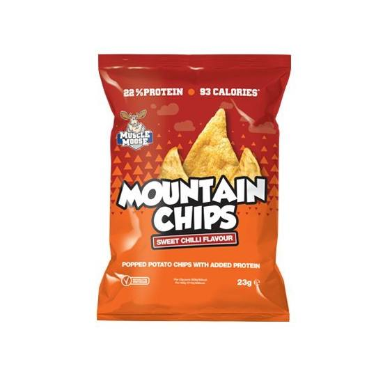 Muscle Moose Protein Mountain Chips Sweet Chilli