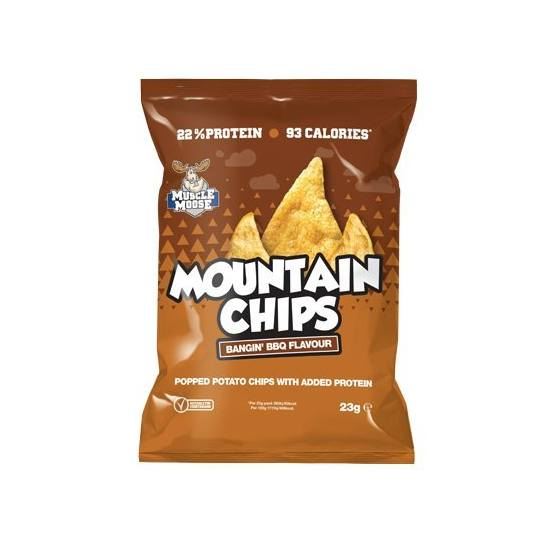 Muscle Moose Protein Mountain Chips Bangin' BBQ