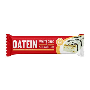Oatein Low Sugar Protein Bar White Chocolate & Strawberry