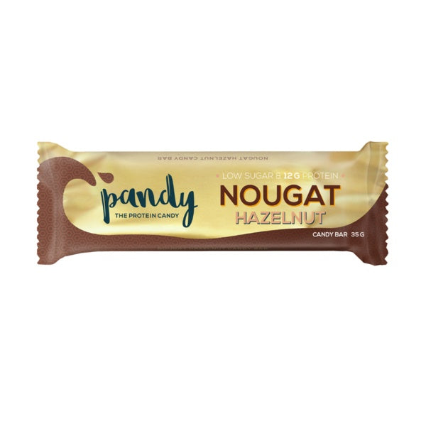 Pandy Nougat Hazelnut Protein Bar