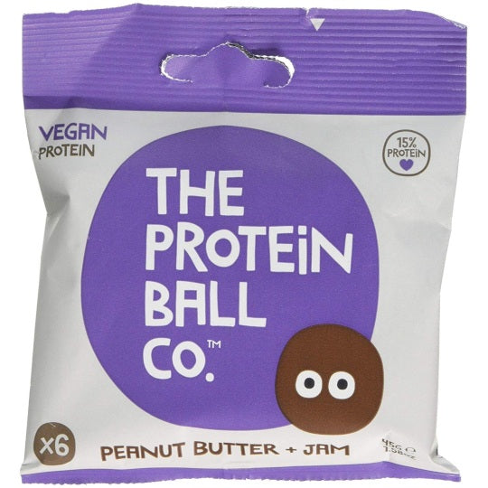 The Protein Ball Co Peanut Butter & Jam