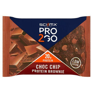 Sci-Mx Pro2Go Choc Chip Protein Brownie