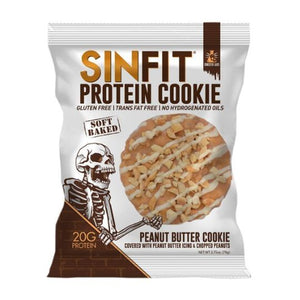 Sinister Labs SINFIT Protein Cookie Peanut Butter