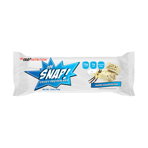 SNAP Nutrition Vanilla Marshmallow Protein Bar