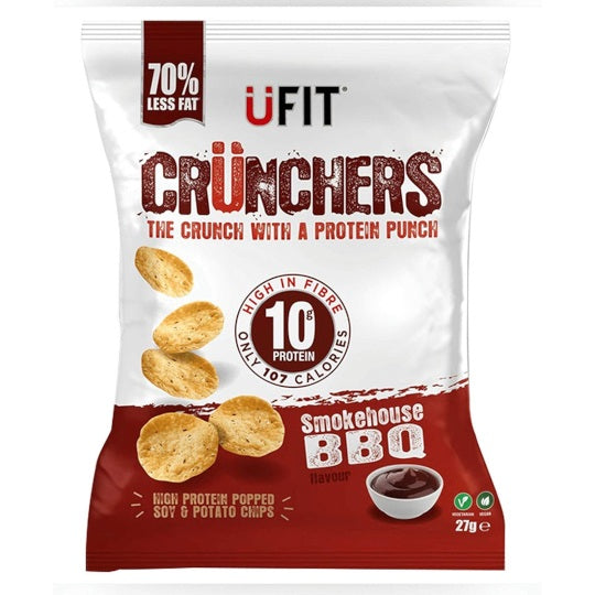 UFIT Crunchers BBQ Protein Chips