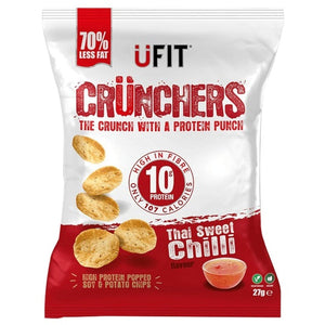 UFIT Crunchers Thai Sweet Chilli Protein Chips