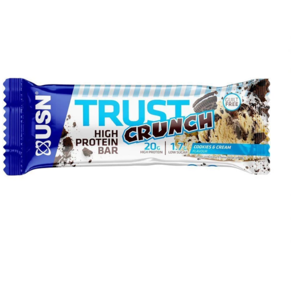 USN Trust Crunch Cookies & Cream Protein Bar