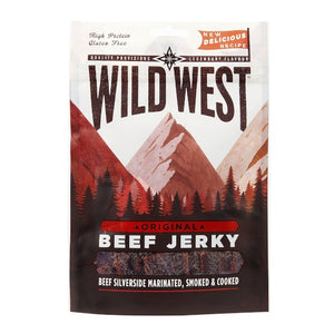 Wild West High Protein Beef Jerky Original 25g