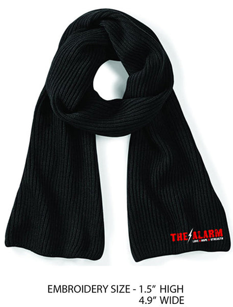 BRAND NEW - THE ALARM - KNITTED SCARF