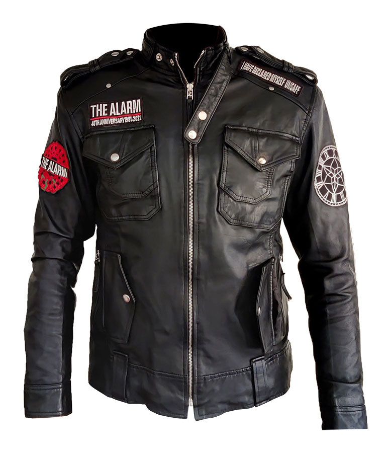 40th Anniversary - 1981 -2021 Black Leather Bespoke Tour Jacket